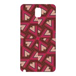 Digital Raspberry Pink Colorful  Samsung Galaxy Note 3 N9005 Hardshell Back Case Front