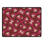 Digital Raspberry Pink Colorful  Double Sided Fleece Blanket (Small)  50 x40 Blanket Back