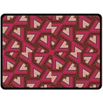 Digital Raspberry Pink Colorful  Double Sided Fleece Blanket (Large)  80 x60 Blanket Front