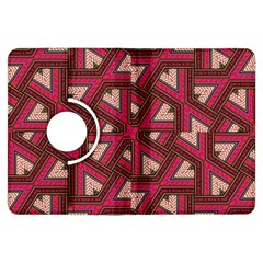 Digital Raspberry Pink Colorful  Kindle Fire HDX Flip 360 Case