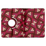 Digital Raspberry Pink Colorful  Kindle Fire HDX Flip 360 Case Front