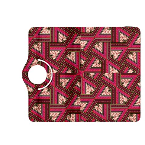 Digital Raspberry Pink Colorful  Kindle Fire HDX 8.9  Flip 360 Case