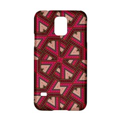 Digital Raspberry Pink Colorful  Samsung Galaxy S5 Hardshell Case