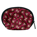 Digital Raspberry Pink Colorful  Accessory Pouches (Medium)  Back