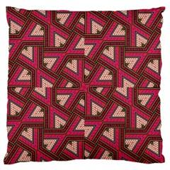 Digital Raspberry Pink Colorful  Standard Flano Cushion Case (One Side)