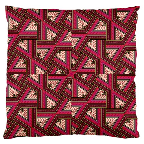 Digital Raspberry Pink Colorful  Standard Flano Cushion Case (Two Sides)