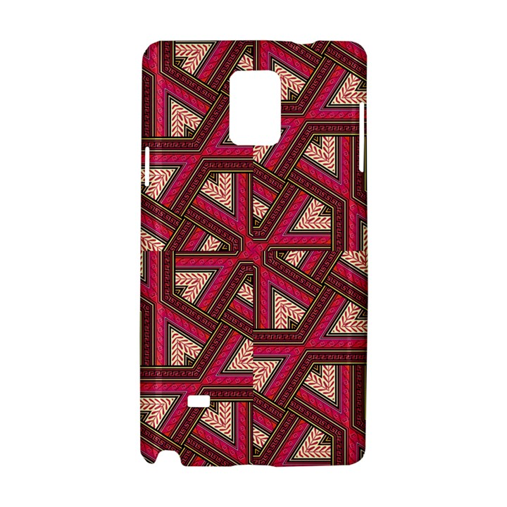 Digital Raspberry Pink Colorful  Samsung Galaxy Note 4 Hardshell Case