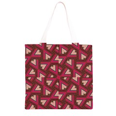 Digital Raspberry Pink Colorful  Grocery Light Tote Bag