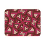 Digital Raspberry Pink Colorful  Double Sided Flano Blanket (Mini)  35 x27 Blanket Front