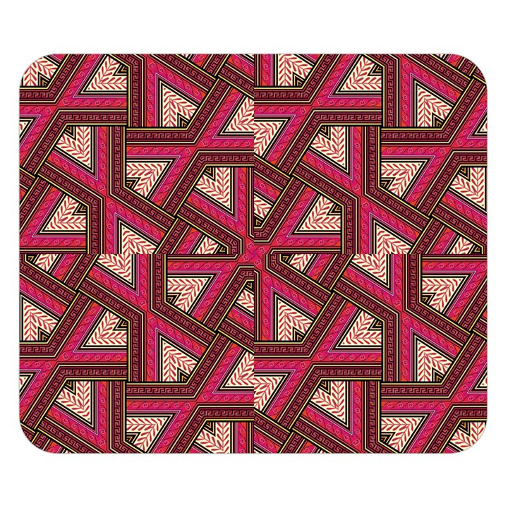 Digital Raspberry Pink Colorful  Double Sided Flano Blanket (Small)