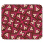 Digital Raspberry Pink Colorful  Double Sided Flano Blanket (Small)  50 x40 Blanket Back