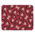 Digital Raspberry Pink Colorful  Double Sided Flano Blanket (Large)   Blanket Back