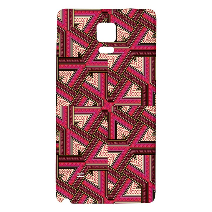 Digital Raspberry Pink Colorful  Galaxy Note 4 Back Case