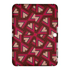 Digital Raspberry Pink Colorful  Samsung Galaxy Tab 4 (10.1 ) Hardshell Case