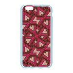 Digital Raspberry Pink Colorful  Apple Seamless iPhone 6/6S Case (Color) Front