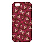 Digital Raspberry Pink Colorful  iPhone 6/6S TPU Case Front