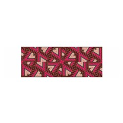 Digital Raspberry Pink Colorful  Satin Scarf (Oblong)