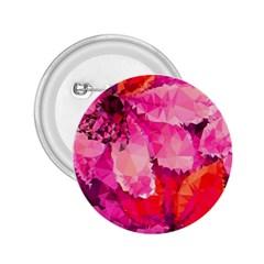 Geometric Magenta Garden 2 25  Buttons