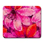 Geometric Magenta Garden Large Mousepads Front