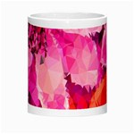 Geometric Magenta Garden Morph Mugs Center