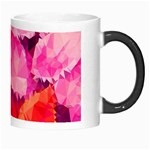 Geometric Magenta Garden Morph Mugs Right