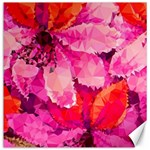 Geometric Magenta Garden Canvas 12  x 12   12 x12 Canvas - 1