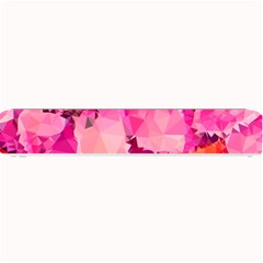 Geometric Magenta Garden Small Bar Mats
