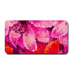 Geometric Magenta Garden Medium Bar Mats 16 x8.5 Bar Mat - 1
