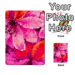 Geometric Magenta Garden Multi Purpose Cards (rectangle)