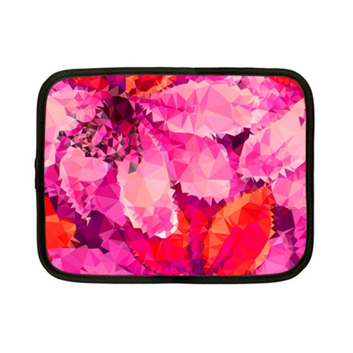 Geometric Magenta Garden Netbook Case (Small)