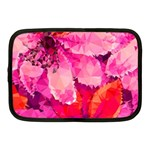 Geometric Magenta Garden Netbook Case (Medium)  Front