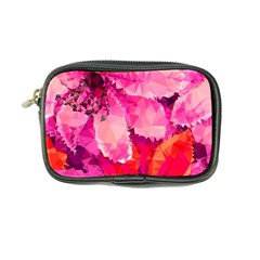 Geometric Magenta Garden Coin Purse