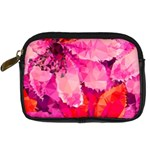 Geometric Magenta Garden Digital Camera Cases Front