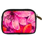 Geometric Magenta Garden Digital Camera Cases Back