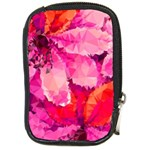 Geometric Magenta Garden Compact Camera Cases Front