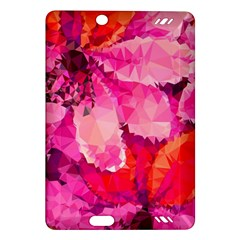 Geometric Magenta Garden Amazon Kindle Fire Hd (2013) Hardshell Case