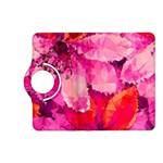 Geometric Magenta Garden Kindle Fire HD (2013) Flip 360 Case Front