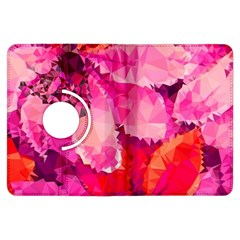 Geometric Magenta Garden Kindle Fire HDX Flip 360 Case