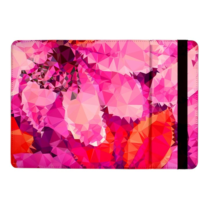 Geometric Magenta Garden Samsung Galaxy Tab Pro 10.1  Flip Case