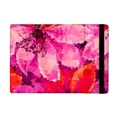 Geometric Magenta Garden iPad Mini 2 Flip Cases
