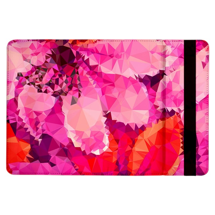 Geometric Magenta Garden iPad Air Flip