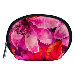 Geometric Magenta Garden Accessory Pouches (medium)