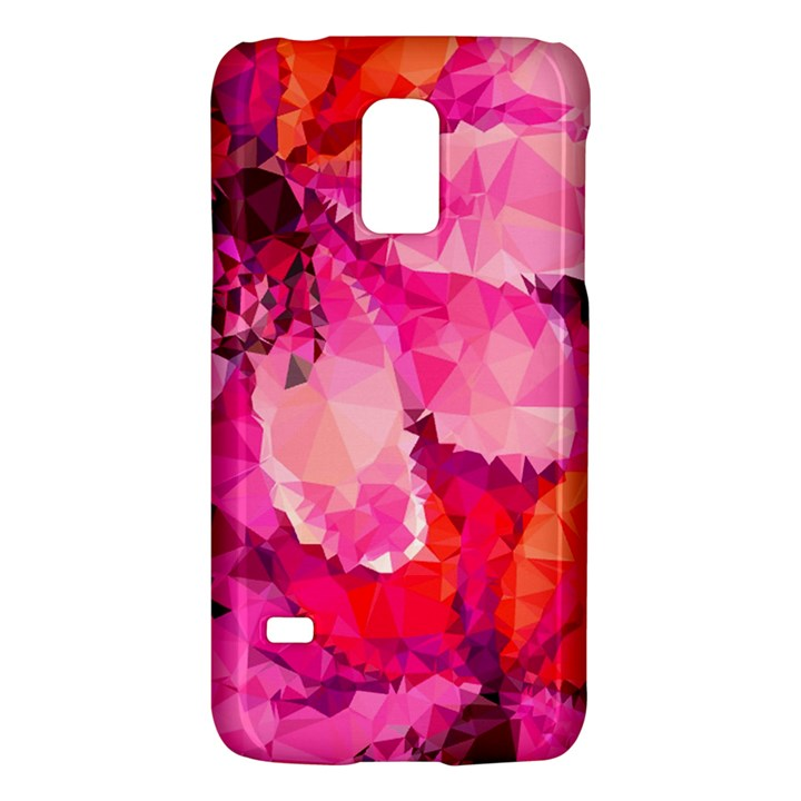 Geometric Magenta Garden Galaxy S5 Mini