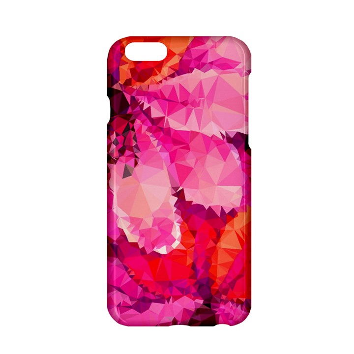 Geometric Magenta Garden Apple iPhone 6/6S Hardshell Case