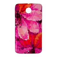 Geometric Magenta Garden Nexus 6 Case (White)