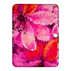 Geometric Magenta Garden Samsung Galaxy Tab 4 (10.1 ) Hardshell Case