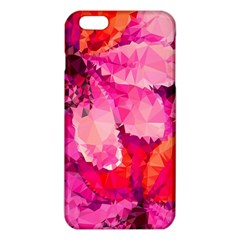 Geometric Magenta Garden iPhone 6 Plus/6S Plus TPU Case