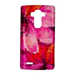 Geometric Magenta Garden LG G4 Hardshell Case