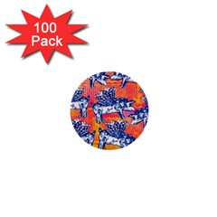 Little Flying Pigs 1  Mini Buttons (100 pack)