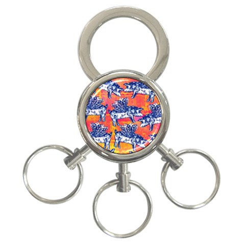 Little Flying Pigs 3-Ring Key Chains